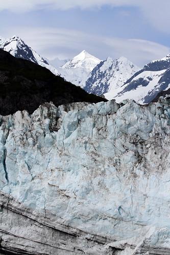 Glacier Bay - Distant Snowy Peak