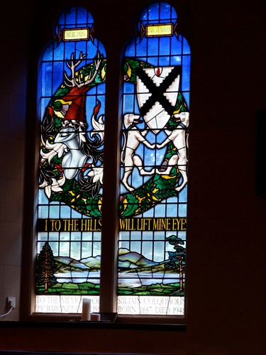Stained Glass in Luss Parish Church