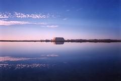 Salt lakes - Siwa Oasis - Approching Darkness