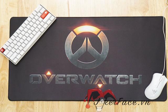 Lót chuột OverWatch Logo 75x40cm - OverWatch