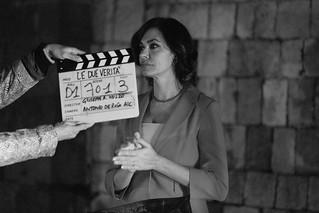 19 Le verità - Backstage - Cameo Cucinotta