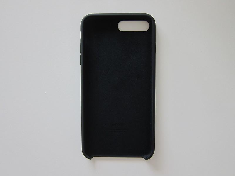 Apple iPhone 7 Plus Silicone Case (Black) - Front
