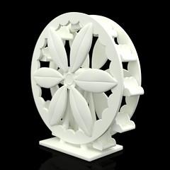 Magnolia Ferris Wheel - 3D Render
