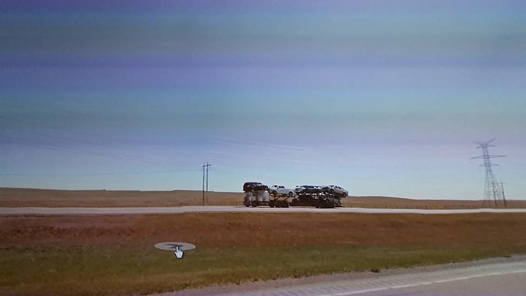 Cars on the prairies #ridingthroughwalls
