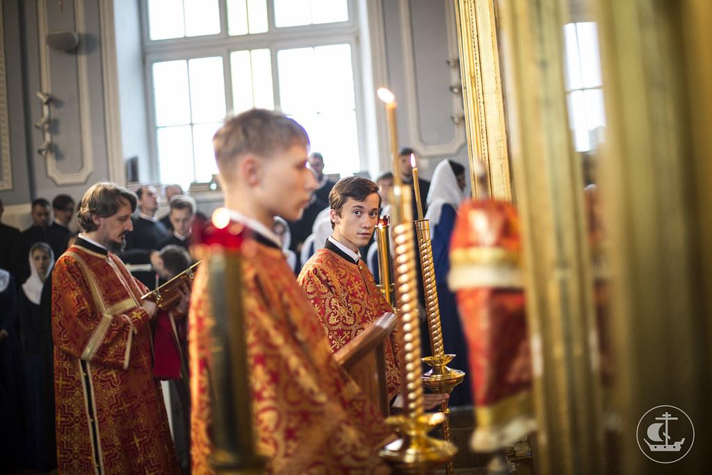 11 сентября 2016, Литургия в день памяти Усекновения главы Иоанна Предтечи / 11 September 2016, Liturgy on the Beheading of John the Baptist
