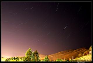 Summer Night Star Trails