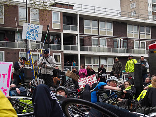 "Addison Lee Protest ""Cyclist Deaths are not 'Inevitable'"""