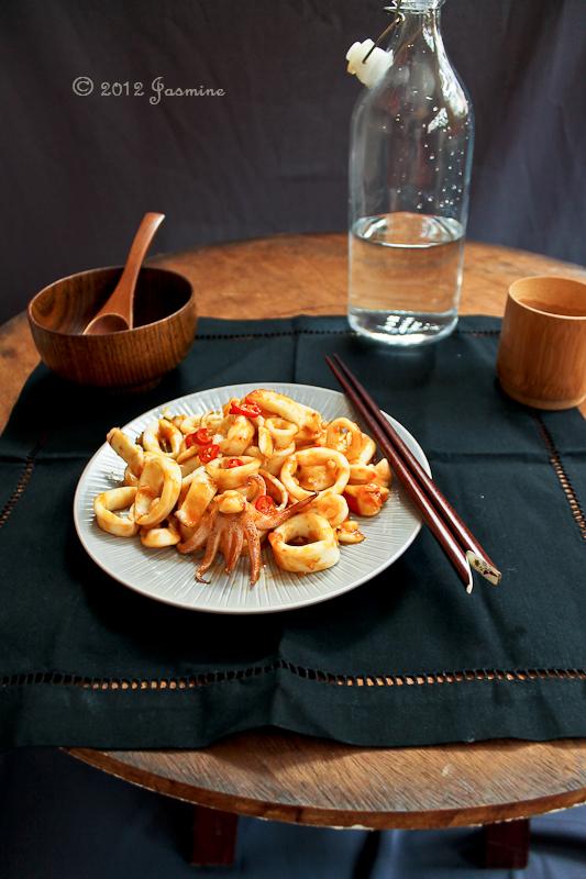 Thai Style Squid