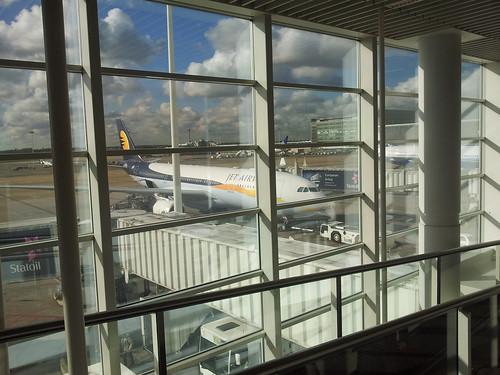 Aéroport de Bruxelles-Zaventem, avant le décollage direction Moscou !
