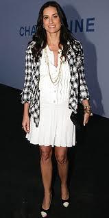 Demi Moore Cap Toe Heels Celebrity Styling Fashion