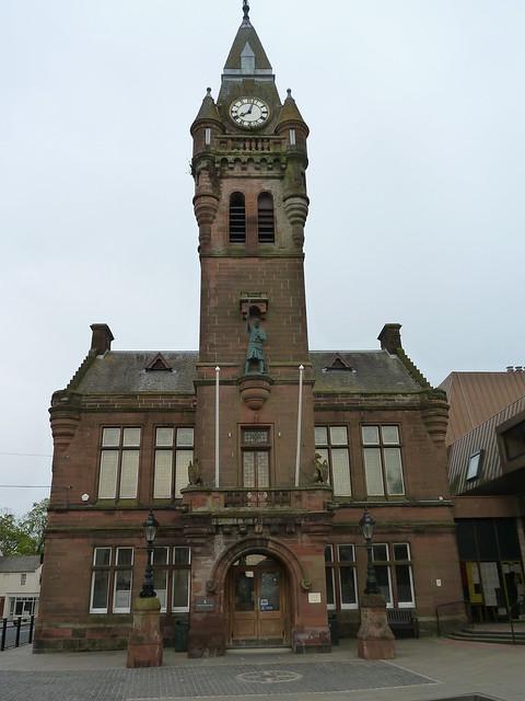 Annan Town Hall, Annan