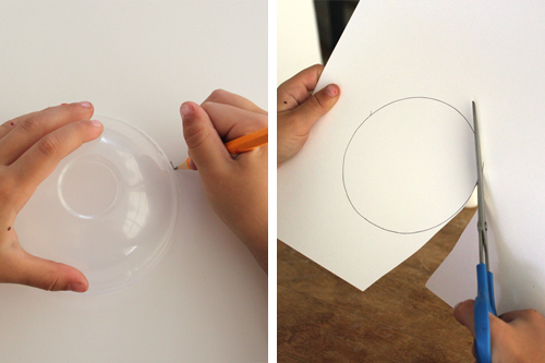 tracing and cutting a circle