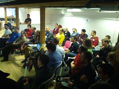 Packed room for Recommender API session at #BADCampUK