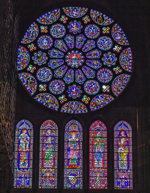 Le vitrail de Chartres