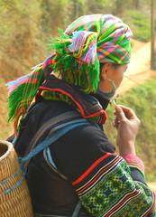 Colorful Sapa Girl