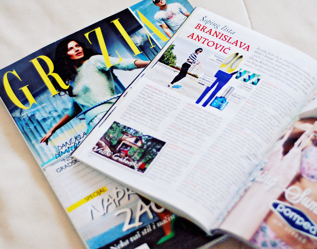 "Featured In Grazia ""Easy Shop"""