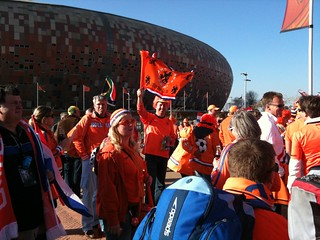 Holland fans at Soccer City