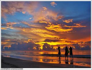 Sunset @ Beringgis Beach