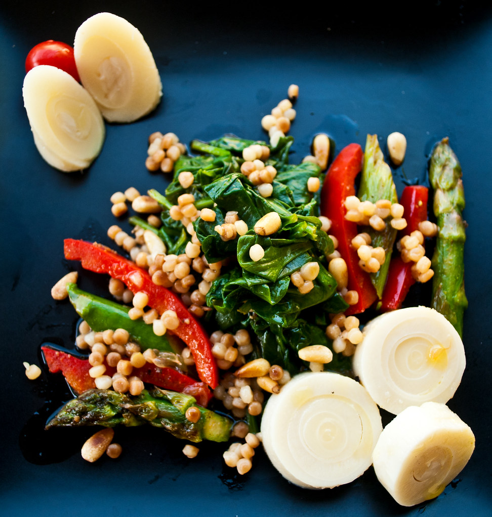 Palm Couscous Pine Nuts Dinner