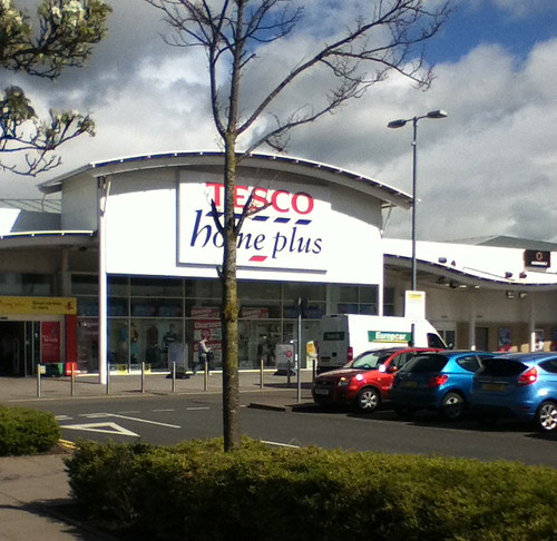 Tesco Home Plus, Forge Retail Park, Telford.