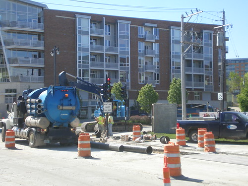 The North End Phase II Utility Work 2