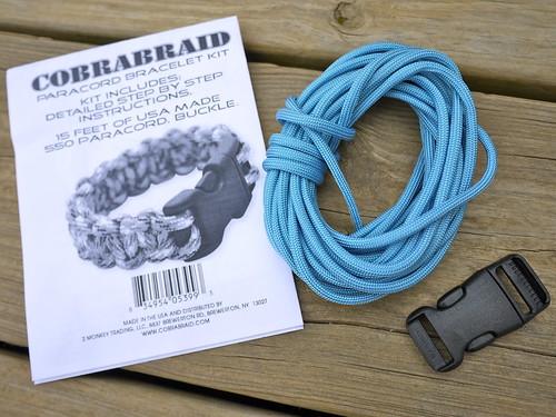 Cobrabraid Paracord Bracelet Kit