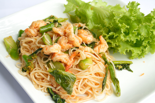 shrimp stir fry with cabbage