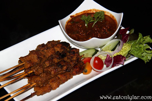 Pork Satay, D Legends Bar