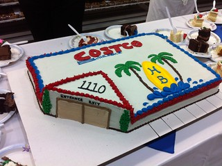 Costco Grand Opening cake by Sunrise Dental Center