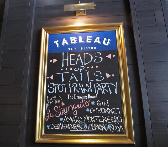 Tableau Bistro Heads or Tails Party