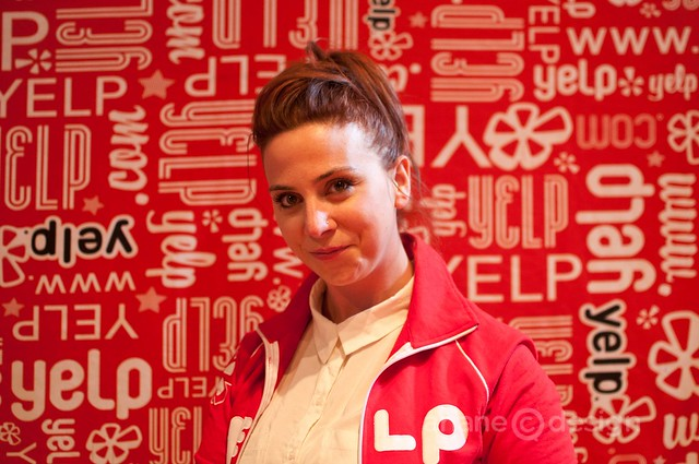 Robin, Yelp's Community Manager, represents!