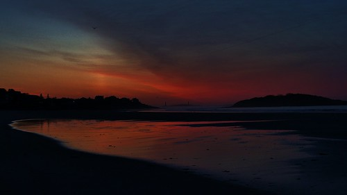 Gloucester At Dawn- Good Harbor Beach and Thacher Island 4:50AM 5/20/12 by captjoe06