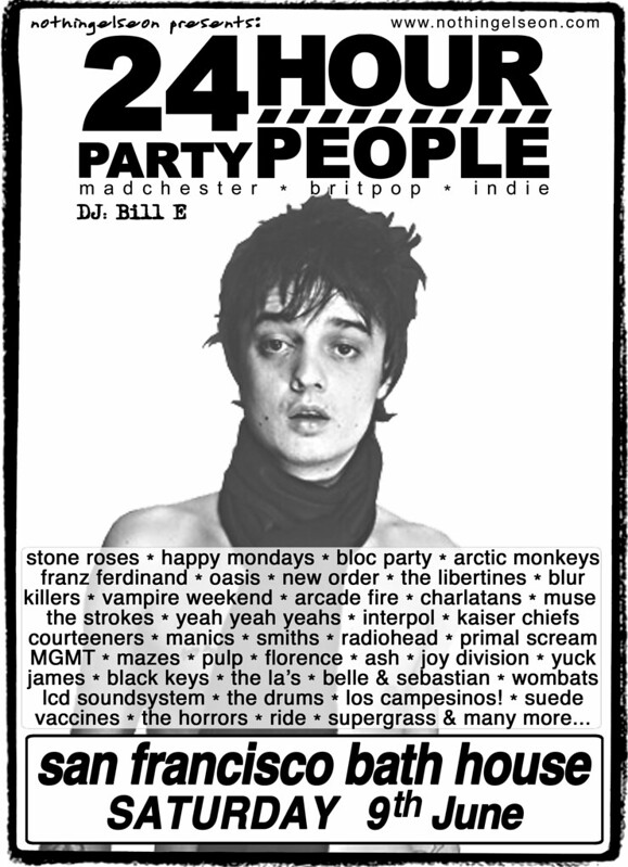 24 Hour Party People poster 9 June