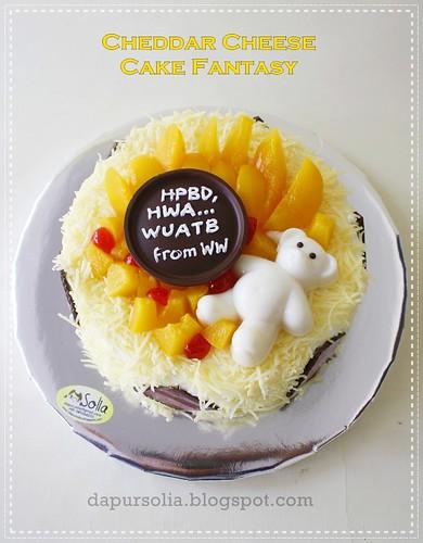 Cheedar Cheese Cake Fantasy