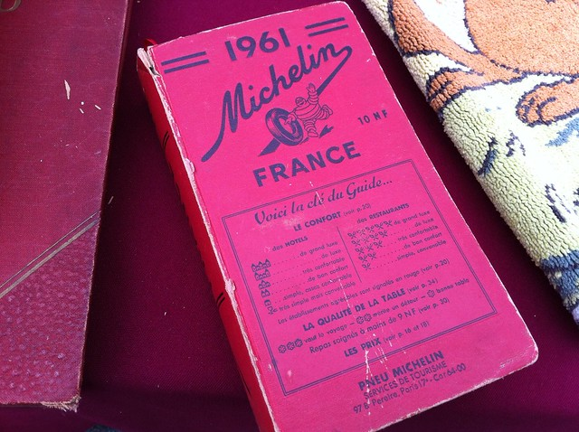 Michelin Guide - 1961