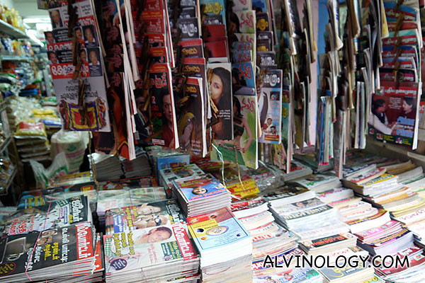 Indian books and magazines