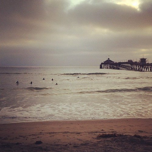Imperial Beach. Where you can surf 50ft from shore. #imperialbeach