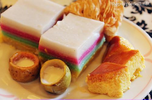Dessert Plate at Ilustrado Restaurant