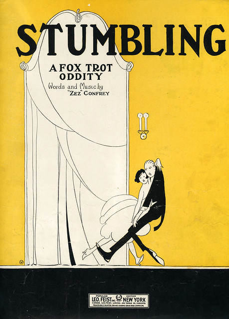 stumbling a fox trot oddity art deco jazz age roaring 20s. Black Bedroom Furniture Sets. Home Design Ideas