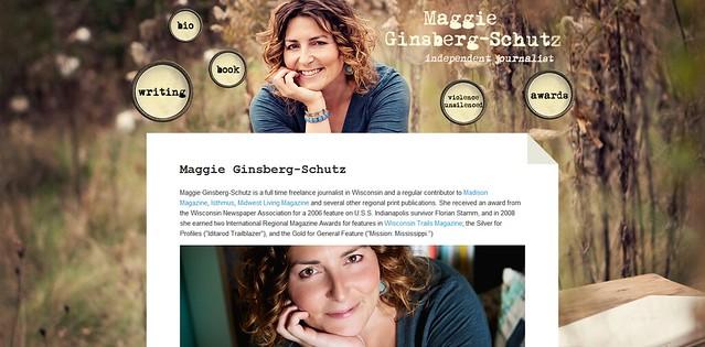 MaggieSchutz.com standalone pages