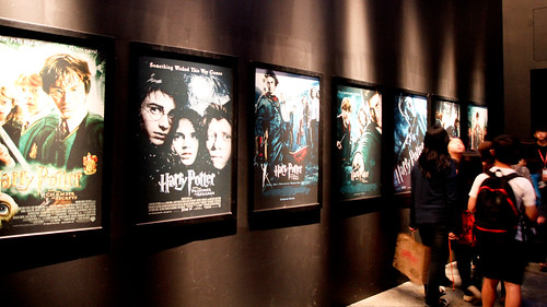 Harry Potter movie posters at Harry Potter Exhibition - 2