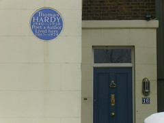 Photo of Thomas Hardy blue plaque