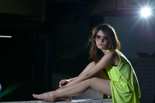 [フリー画像素材] 人物, 女性 - アジア, サングラス, 台湾人 ID:201206202200