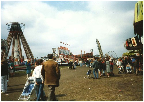 Ghostbuster ride at the Hoppings, 1986