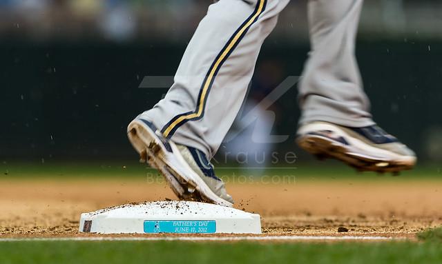Milwaukee Brewers Rickie Weeks, June 17, 2012