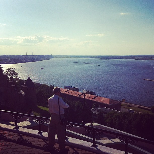 Volga river after#testcampnn
