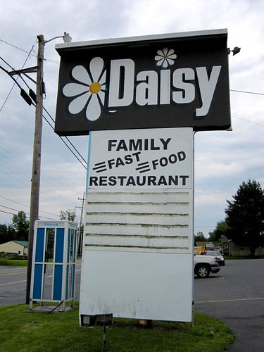 Daisy Family Restaurant Sign