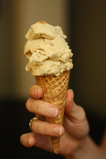 Caramel Popcorn Ice Cream Cone | Flickr - Photo Sharing!
