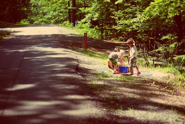 solstice camping