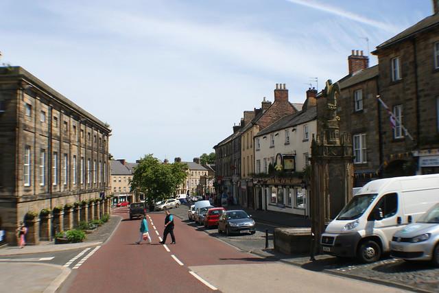 Alnwick Town, Northumberland